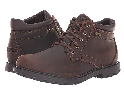 Rockport Rugged Bucks Waterproof Boot (Tan) Men