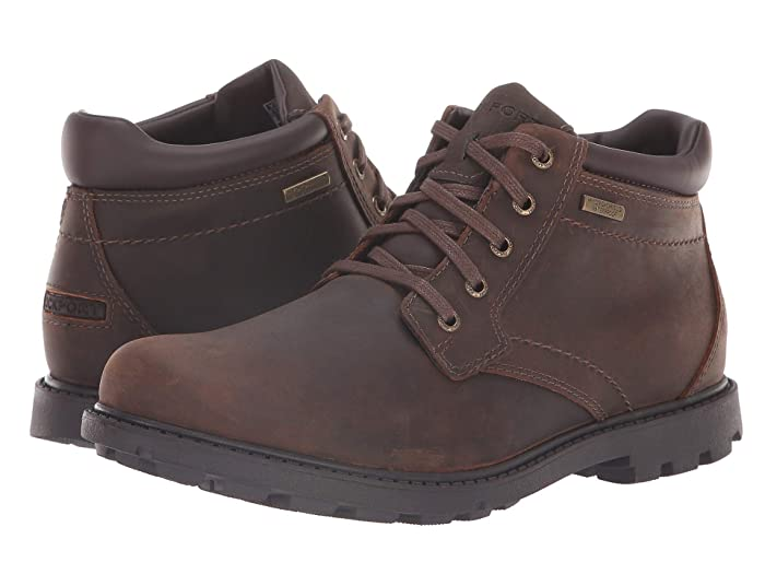 Rockport  Rugged Bucks Waterproof Boot (Tan) Mens Boots