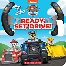 Ready, Set, Drive! (PAW Patrol Drive the Vehicle Book)