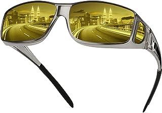 عینک های دید در شب برای رانندگی ، عینک های شب گرد رانندگی ضد لعاب پلاریزه متناسب با عینک های طبی