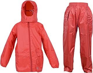 DRY KIDS - Jacket and Trouser Set 13-14 Yrs Bright Red