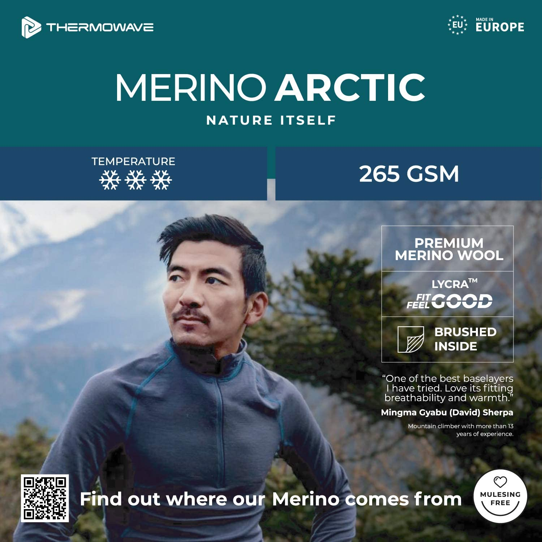 Thermowave Merino Arctic Thermal Shirts for Women Merino Wool Crew Neck - Thermo Shirts
