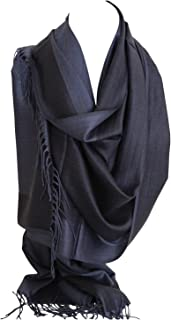 Bullahshah Zweiseitig Reversible Plain Pashmina Gefühl Verpackungs-Schal-Schal-Stola Kopftücher
