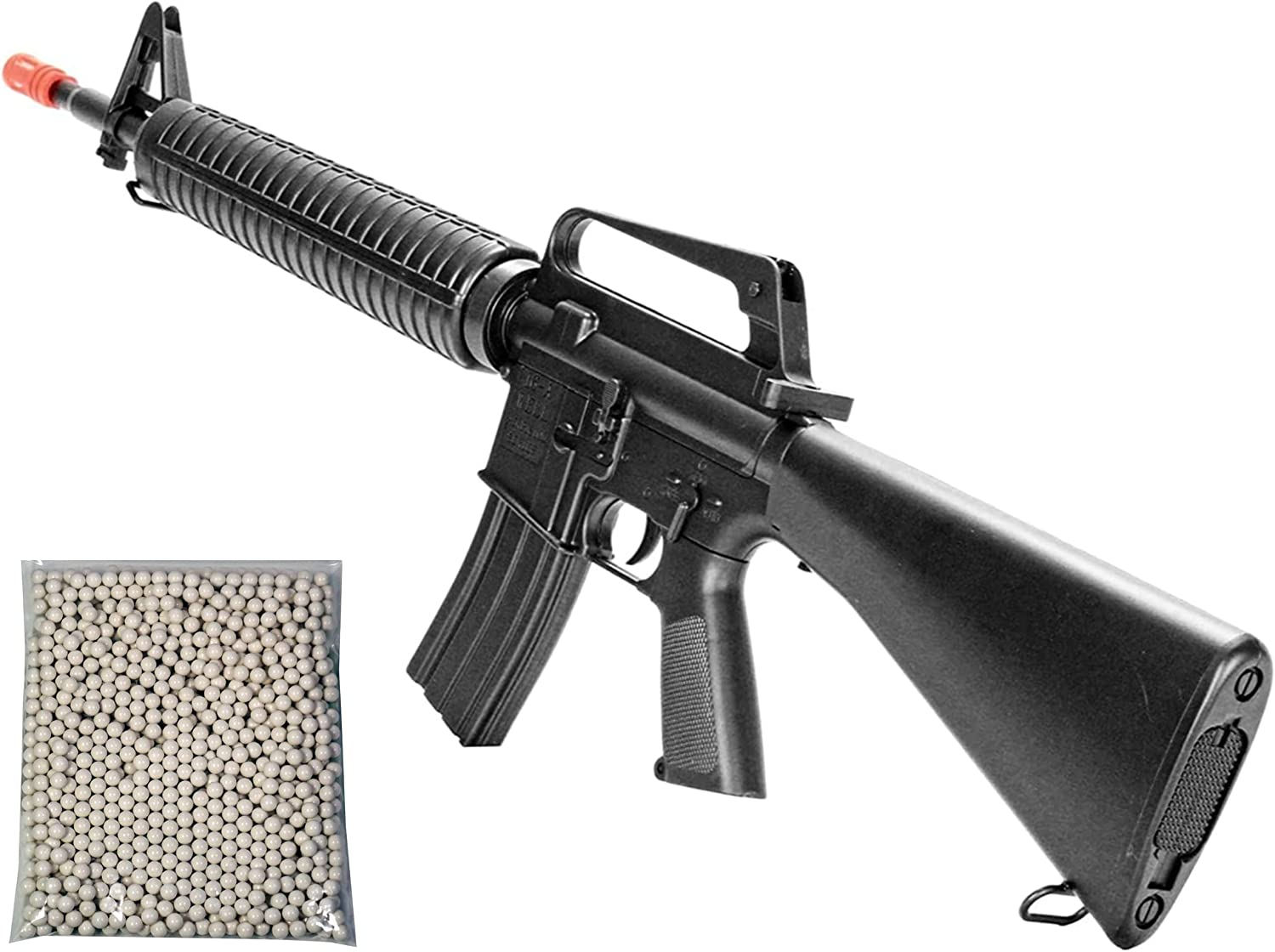 Airsoft Rifle M4 Style Spring Powered Shot M16A1 Single Don't miss the campaign 300 supreme Well