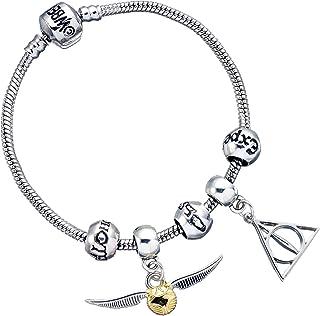 The Carat Shop - Pulsera chapada en plata de Harry Potter