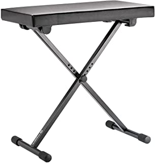 K&M Stands 14065 Keyboard, Piano Bench, Adjustable H