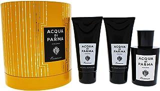 Aqua Di Parma Colonia Essenza Coffret: Eau De Cologne Spray + Hair And Shower Gel 75Ml + After Shave Balm 75Ml, 3 count