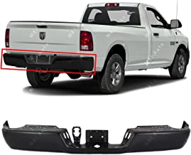MBI AUTO - Primered, Rear Bumper Face Bar for 2009-2018 Dodge RAM 1500 W/Out Park OR Dual Exhaust 09-18, CH1102369
