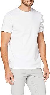 MERAKI Herren Slim Fit-T-Shirt, , Bio-Baumwolle