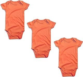 OPAWO Baby Bodysuit 3-Pack Neutral Solid Color for Unisex Boy Girl Newborn  - 24 cbf7b41b4