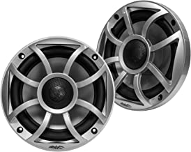 """$152 » Sponsored Ad - Wet Sounds RECON5-S Recon Series 5.25"""" 50-Watt RMS Coaxial Speakers with Silver XS Grille and Cone (Pair) (..."""