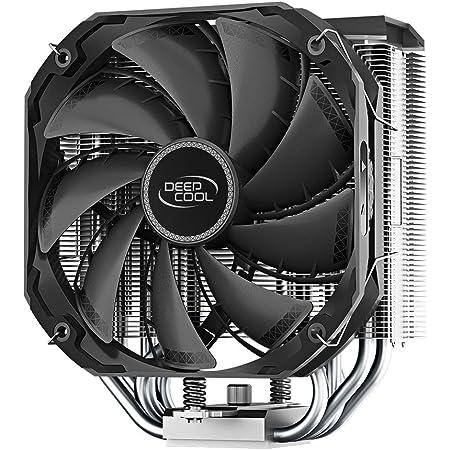 Deepcool AS500 CPUクーラー Ryzen5000シリーズ対応 R-AS500-BKNLMN-G FN1481