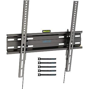 BONTEC Soporte de TV en Pared Inclinable Ultra Delgado para 23-55 Pulgadas Televisores de LED/LCD/Plasma, Carga Máx. 45kg, Máx VESA 400x400 mm: Amazon.es: Electrónica