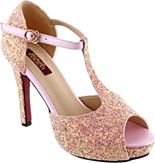 Shuz Touch Pink Pumps & Peeptoes