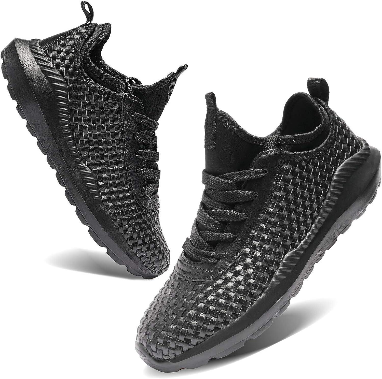 TIAMOU Walking Men and Women Running Shoes Sports Woven Slip Sneakers Casual Basketball Fashion Outdoor Movement Leisure Shoe