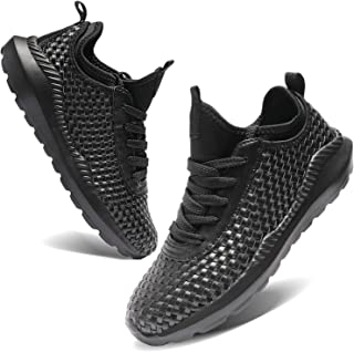TIAMOU Walking Men and Women Running Shoes Sports Woven Slip Sneakers Casual Basketball Fashion Outdoor Movement Leisure Shoe