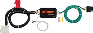 CURT 56291 Vehicle-Side Custom 4-Pin Trailer Wiring Harness for Select Honda Pilot