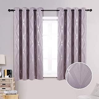 Best diamond shaped window curtains Reviews