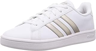 Adidas Grand Court Base, Sport Shoes Womens, Ftwbla/Metpla/Ftwbla