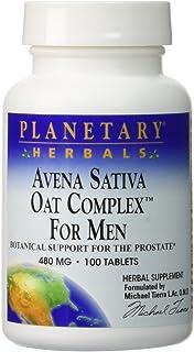 Avena Sativa Oat Complex for Men Planetary Herbals 100 Tabs
