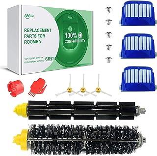 Accessoire compatible avec iRobot Roomba Série 600 Kit d'entretien avec Brosses & Filtres pour 600 605 610 615 616 620 621...