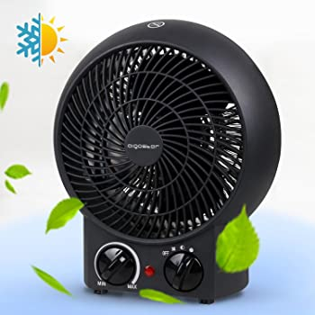 Li Kerer600W /& 900W The Socket Portable Heater Wonder PRO Warm Cooler Home Appliance Portatile Calore rapido e Semplice Immediatamente TF366,900 W Nero 600 W