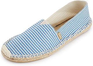 Kentti Men Multicolour Stripe Slip on Flat Espadrilles
