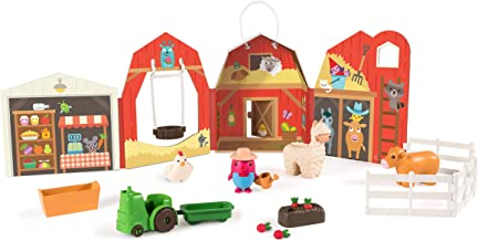 Sago Mini, Robin'S Farm, Portable Playset with Figures, for Ages 3 & Up