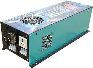 ATS 24V 32000W Peak 8000W LF Split Phase Pure Sine Wave Power Inverter DC 24V to AC 110V&220V 60Hz, with 120A BC/UPS/LCD Display