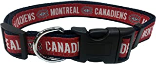 Pets First NHL Montreal Canadiens Collar for Dogs & Cats, Large. - Adjustable, Cute & Stylish! The Ultimate Hockey Fan Col...