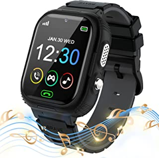 PTHTECHUS Kids Smart Watch for Boys Girls - Touch Screen Smartwatch with Phone Call Digital Camera MP3 Player SOS Clock Ga...
