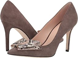 42e1707d5 Kate Spade New York. Rudy. $348.00. Luxury. Moka/Pale Vellium Kid  Suede/Printed Snake