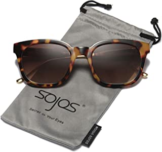 SOJOS Classic Polarized Sunglasses for Women Men Mirrored...