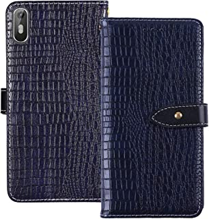 YLYT Shockproof - Black Flip Leather Luxury Cover With Stand Wallet Case For Coolpad Note 6 5.5 inch Card Slots Skin