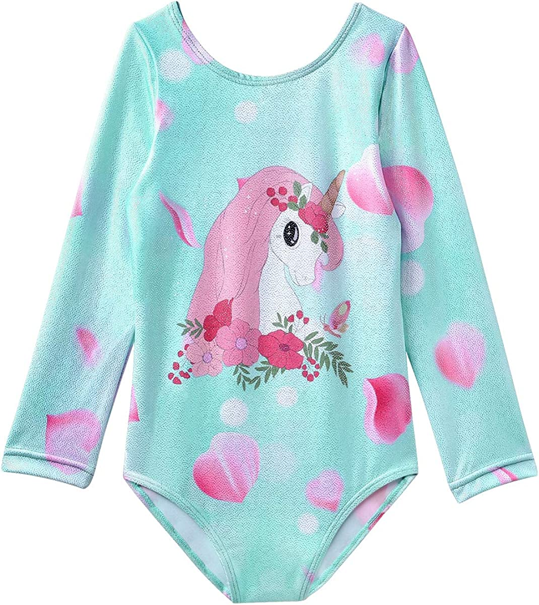 Gymnastics Leotards for Girls Long service Sleeve Bal Year-end annual account Apparel
