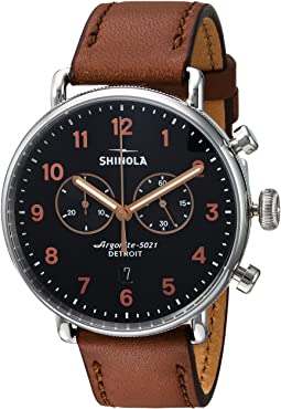 Shinola Detroit The Canfield Chronograph 43mm - 20095229