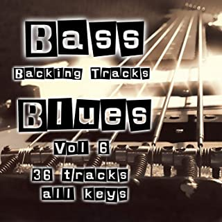 Am Minor Blues Backing Track in Am (No Bass)
