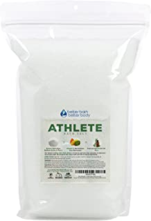 Athlete Bath Salt 128 Ounces Epsom Salt with Lavender, Pine, Peppermint and Eucalyptus Essential Oils Plus Vitamin C and All Natural Ingredients