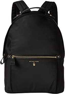 a1f7feaeb9c6 MICHAEL Michael Kors. Polly MD Slim Zip Backpack.  178.00. Black