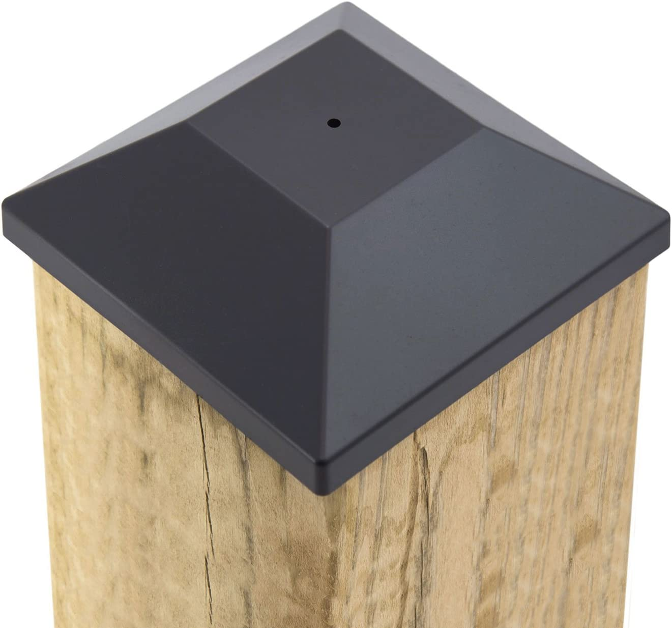 32 Pack New lowest price Wood Fence Indefinitely Post Black 5 T 6X6 Pressure 8