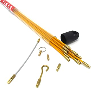 33', 3/16 Fiberglass Wire Puller/Running Kit by OTI
