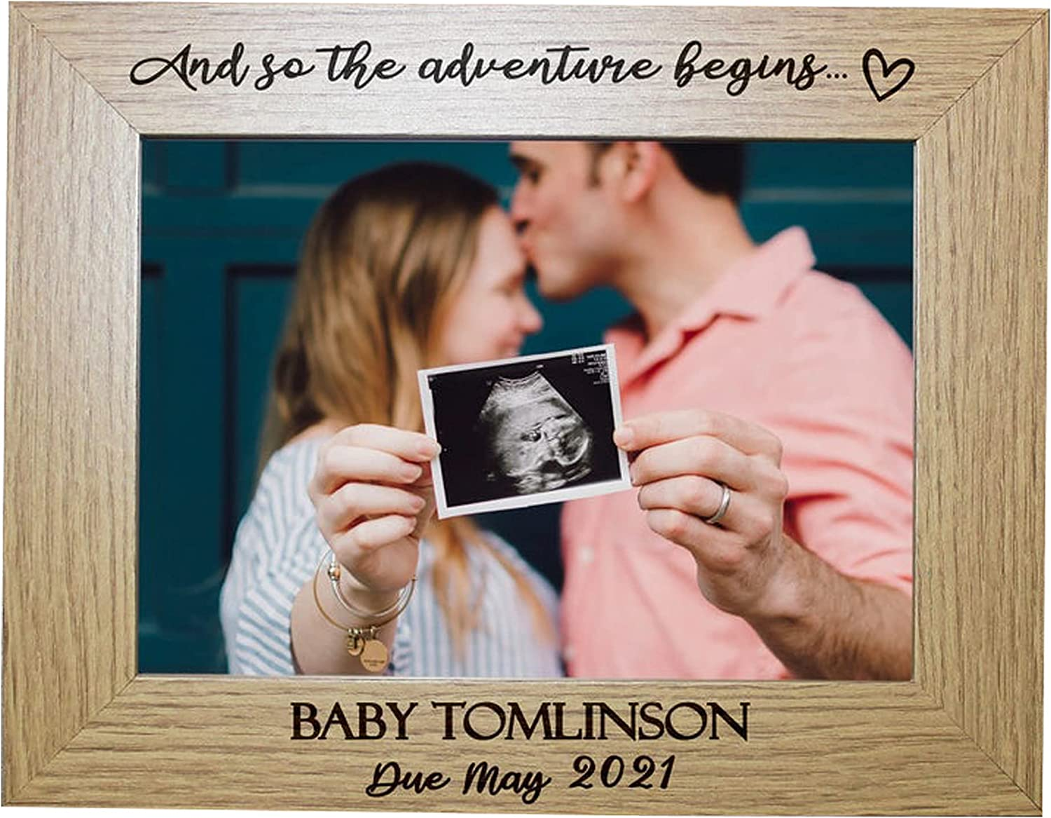 2021 spring and summer new And So The List price Adventure Begins Baby Personalised Photo Announcement
