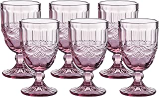 Best vintage pressed glass goblets Reviews