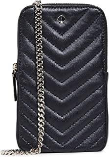 Kate Spade New York Amelia North South Phone Crossbody Bag, Black, One Size