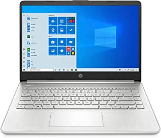 HP 14-DQ1059WM (1A1L1UA#ABA)- 14Inch HD Laptop, Intel Core i5-1035G1, 8GB, 2566GB SSD, Intel UHD Graphics, Win10, Eng-kb, ...