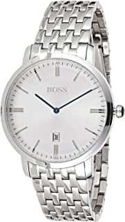 Hugo Boss Tradition Men's Silver Dial Stainless Steel Watch - 1513537