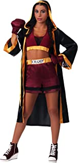 Women's Tough Boxer Costume Boxing Robe Costume for Women