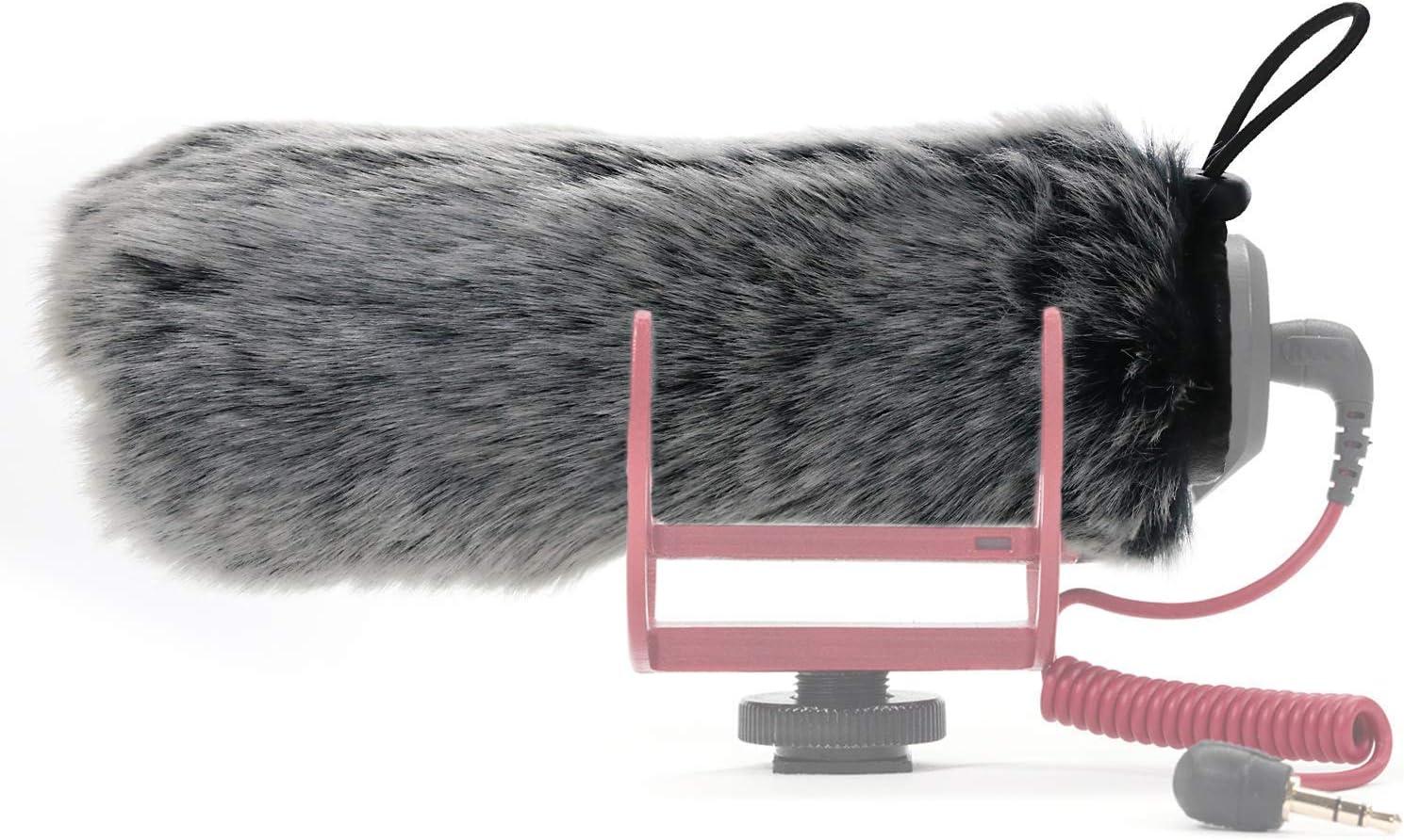 SUNMON shipfree Rode Deadcat Mic Windshield for VideoMic 1 year warranty Filter Fur