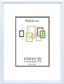 Chely Intermarket, Marco de Fotos 70x100 cm (Azul clarito) Grandes para Pared MOD-313. Decoración | Fotografías de Boda | Listado de Precio | Certificados universitarios(313-70x100-3,50)