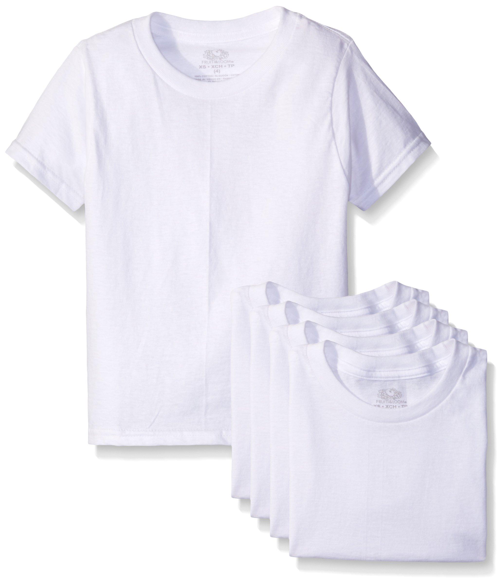 ルームボーイのラウンドネックTシャツ(5枚組)のフルーツ